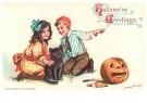 Anonymus  -  Halloween greetings - Postkaart -  1C2032-1