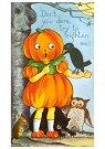 Anonymus  -  Halloweentafereel - Postkaart -  1C2073-1
