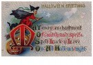 A.N.B.  -  Halloween greetings - Postkaart -  1C2156-1