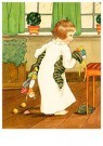 A.N.B.  -  Meisje met kerstcadeaus - Postkaart -  1C2315-1