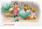 Anonymus  -  Easter greetings - Postkaart -  1C2451-1