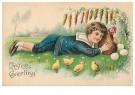 Anonymus  -  Easter greeting - Postkaart -  1C2456-1