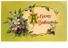 Anonymus  -  A happy birthday - Postkaart -  1C2461-1