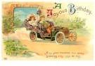 A.N.B.  -  A joyous birthday - Postkaart -  1C2463-1