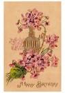 A.N.B.  -  A happy birthday - Postkaart -  1C2477-1
