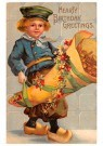 Anonymus  -  Hearty birthday greetings - Postkaart -  1C2484-1