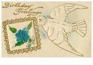 A.N.B.  -  Birthday greetings - Postkaart -  1C2491-1