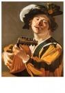 Dirck van Baburen (1594-1624)  -  De luitspeler - Postkaart -  2C0172-1