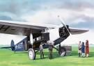 Thijs Postma (1933)  -  Fokker F.7A - Postkaart -  2C0290-1