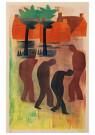 Hendrik Nic.Werkman (1882-1945 -  Vaders en zonen, 1942 - Postkaart -  2C0751-1