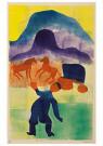 Hendrik Nic.Werkman (1882-1945 -  De gedwongen terugkeer, 1942 - Postkaart -  2C0753-1