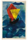 Hendrik Nic.Werkman (1882-1945 -  De tocht naar Jeruzalem, 1942 - Postkaart -  2C0755-1