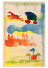 Hendrik Nic.Werkman (1882-1945 -  De rit naar Berlijn, 1942 - Postkaart -  2C0757-1