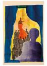 Hendrik Nic.Werkman (1882-1945 -  De bisschop en de Baalschem, 1942 - Postkaart -  2C0759-1