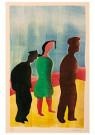 Hendrik Nic.Werkman (1882-1945 -  Het Joodsche bruidje, 1943 - Postkaart -  2C0760-1