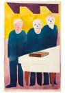 Hendrik Nic.Werkman (1882-1945 -  De drie aartsvaders, 1943 - Postkaart -  2C0761-1