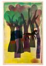 Hendrik Nic.Werkman (1882-1945 -  De wagen in het bosch, 1943 - Postkaart -  2C0763-1