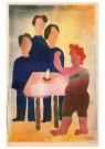 Hendrik Nic.Werkman (1882-1945 -  De toornige kolenbrander, 1943 - Postkaart -  2C0764-1