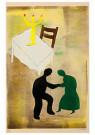 Hendrik Nic.Werkman (1882-1945 -  De sabbat der eenvoudigen, 1943 - Postkaart -  2C0767-1