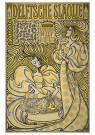 Jan Th.Toorop (1858-1928)  -  Affiche Delftsche slaolie,1894 - Postkaart -  2C0805-1