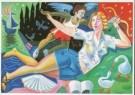 Milan Kunc (1944)  -  Venus en Amor - Postkaart -  A0068-1