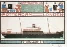 Bart van der Leck (1876-1958)  -  Leck, v.d./Batavier-lijn/ Br - Postkaart -  A0401-1