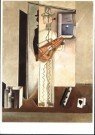 Salvador Dali (1904-1989)  -  Grote harlekijn met fl - Postkaart -  A10002-1