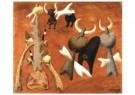 Benjamin Palencia (1884-1980)  -  Stierengevecht - Postkaart -  A10006-1