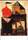 O.Dominguez  -  De kat en kanarie - Postkaart -  A10012-1