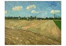 Vincent van Gogh (1853-1890)  -  Ploughed fields ('The furrows'), 1888 - Postkaart -  A100343-1