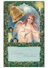 Anonymus  -  Kerstengel luidt de bel - Postkaart -  A100359-1
