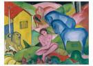 Franz Marc (1880-1916)  -  The dream, unknown - Postkaart -  A100534-1