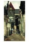 George H. Breitner (1857-1923) -  Straatje R'dam - Postkaart -  A10055-1