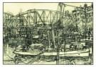 Jan Th.Toorop (1858-1928)  -  Spoorbrug en huizenr - Postkaart -  A10059-1