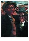 Charlie Toorop (1891-1955)  -  Negers, Rotterdam, 1926 - Postkaart -  A10060-1