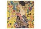 Gustav Klimt (1862-1918)  -  Woman with fan, 1917 - 1918 - Postkaart -  A100706-1