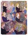 Charlotte Salomon (1917-1943)  -  Ruzie Charl.Paulinka - Postkaart -  A10108-1