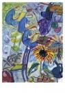 Charlotte Salomon (1917-1943)  -  Leben? of theater? Ein Singspiel / 1940-1942 / Charlotte als s - Postkaart -  A10112-1