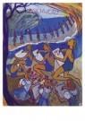 Charlotte Salomon (1917-1943)  -  Charlotte in Zuid-Frankrijk - Postkaart -  A10122-1