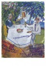 Charlotte Salomon (1917-1943)  -  Charlotte en Grootouders - Postkaart -  A10123-1