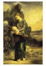 Gustave Moreau (1826-1898)  -  Orpheus - Orphee, 1866 - Postkaart -  A10129-1