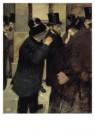Edgar Degas (1834-1917)  -  Portretten op de beurs - Portraits a la Bourse, 18 - Postkaart -  A10156-1