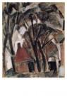 Leo Gestel (1881-1941)  -  Voorstudie boerderij - Postkaart -  A10183-1