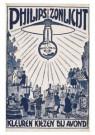 Leo Gestel (1881-1941)  -  Philips zonlicht, kleuren kiezen bij avond, z.d. - Postkaart -  A10189-1