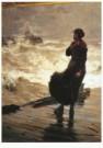 Gijs Bosch Reitz (1860-1938)  -  Een gevaarlijke terugkeer - Postkaart -  A10210-1