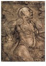 Theo van Doesburg (1883-1931)  -  Male Nude, 1905 - Postkaart -  A102484-1
