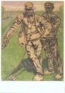 Jan Th.Toorop (1858-1928)  -  Landarbeiders - Postkaart -  A10251-1