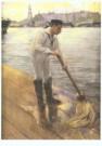 H.M. Krabbe (1868-1931)  -  Marinematroos - Postkaart -  A10262-1