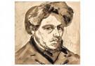 Theo van Doesburg (1883-1931)  -  Zelfportret, 1905 - Postkaart -  A102876-1