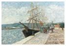 Daubigny (1817-1878)  -  Heldere maan - Postkaart -  A10296-1